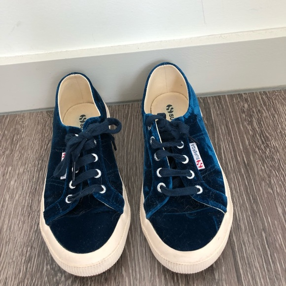 Superga Shoes | Velvet Blue Superga